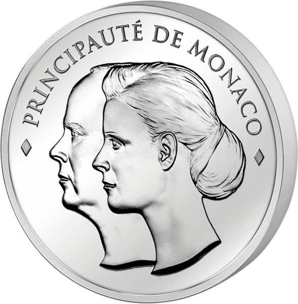 10 Euro Monaco Hochzeit Albert II.& Charlene Wittstock 2011