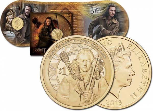 1 Dollar Neuseeland Der Hobbit - Smaugs Einöde 2013