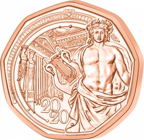 5 Euro Österreich Neujahr 150 Jahre Musikverein 2020