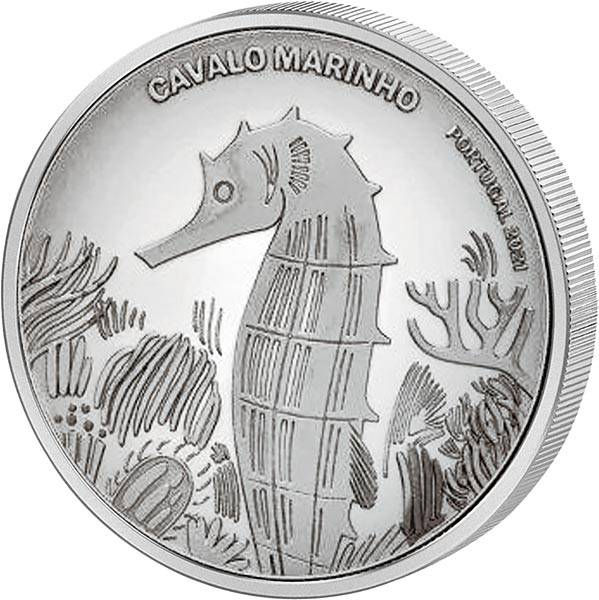 5 Euro Portugal Seepferdchen 2021