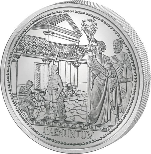 20 Euro Österreich Carnuntum Rom an der Donau 2011