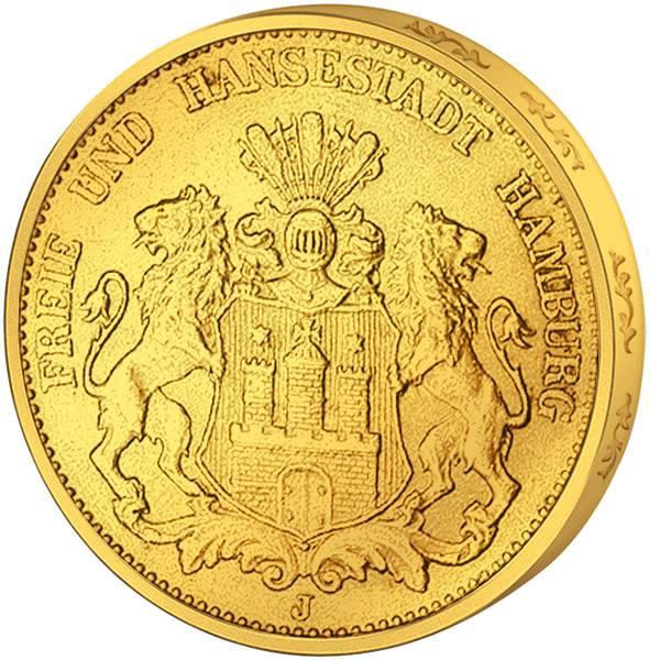 5 Mark Freie und Hansestadt Hamburg 1877