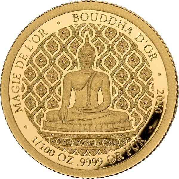 100 Francs Kongo Der goldene Buddha 2020