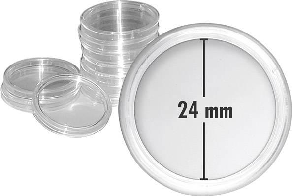 10er-Pack Münzkapseln Innendurchmesser 24 mm