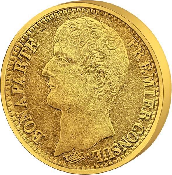 40 Francs Frankreich Napoleon I. 1802 - 1804