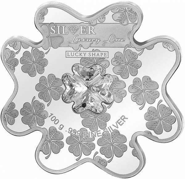20 Dollars Cook-Inseln Luxury Line Lucky Shape Coin 2016 - FOTOMUSTER