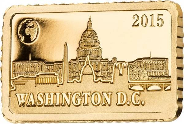 10 Dollars Salomonen Washington Kapitol 2015
