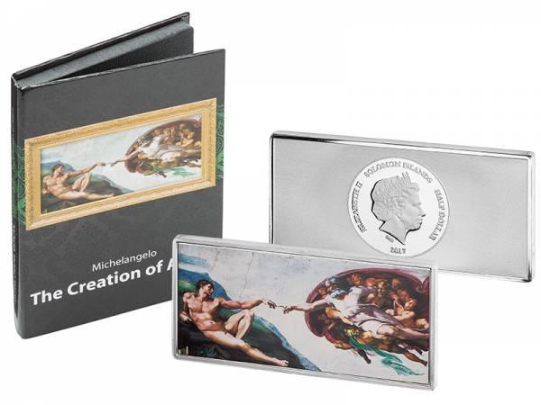 1/2 Dollar Salomonen Michelangelo Die Erschaffung Adams 2017