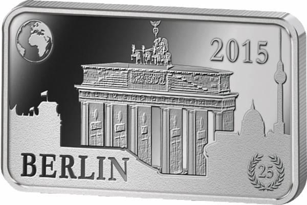 1/2 Dollar Salomonen Deutschland Berlin Brandenburger Tor 2015 Polierte Platte (PP)