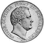 Taler Doppeltaler Friedrich Günther 1841, 1845 ss-vz