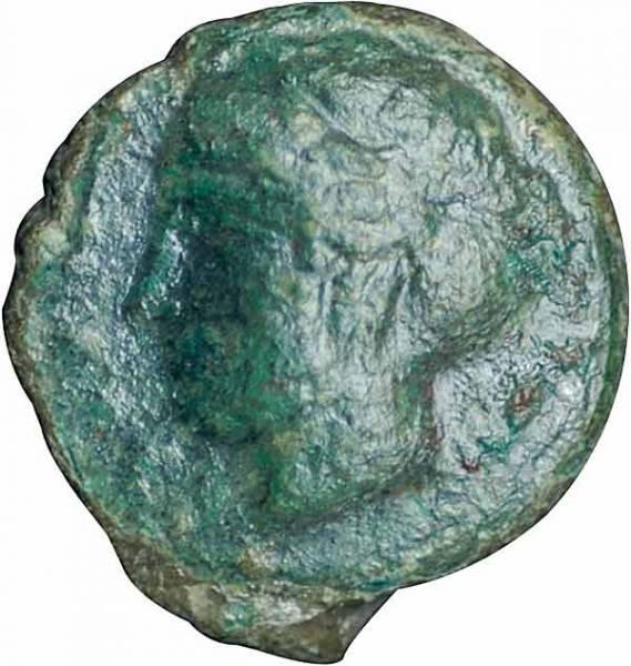 Sizilien-Himera Hemilitra Nymphe 420-408 v.Chr. Sehr schön