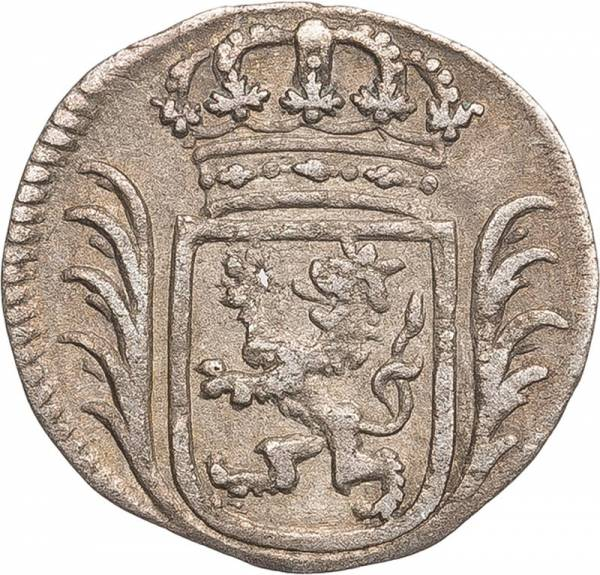 4 Heller Hessen-Kassel Landgraf Freidrich I. 1730-1750