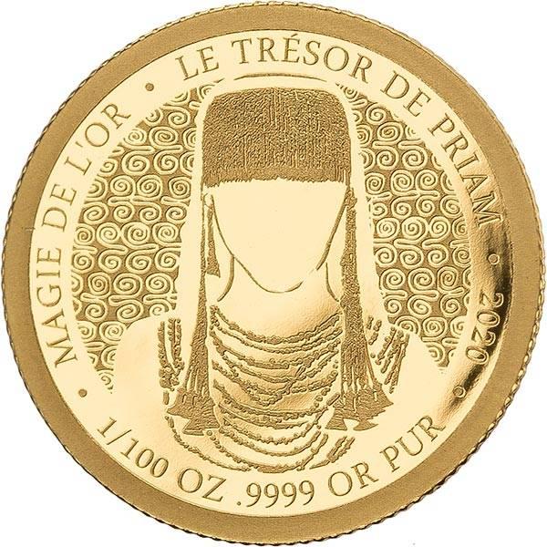100 Francs Kongo Der Schatz des Priamos 2020