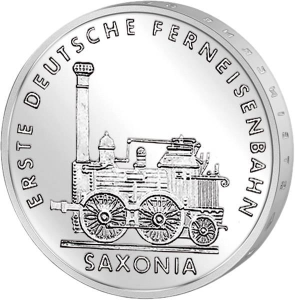 5 Mark Erste Deutsche Ferneisenbahn