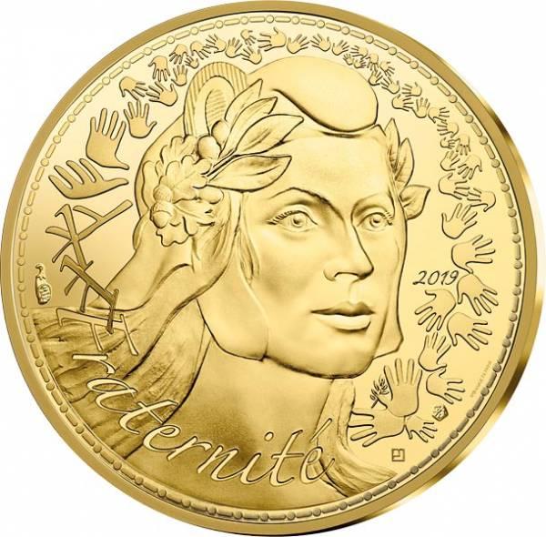 250 Euro Frankreich Marianne Fraternité 2019
