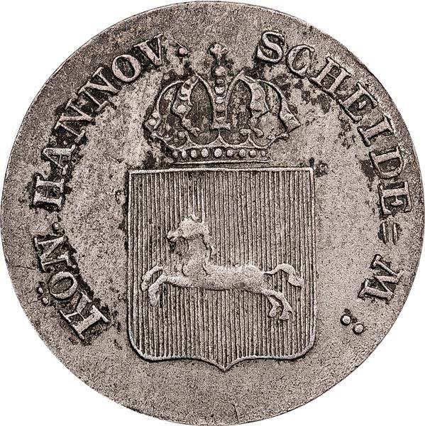 4 Pfennig Hannover König Ernst August 1838-1842