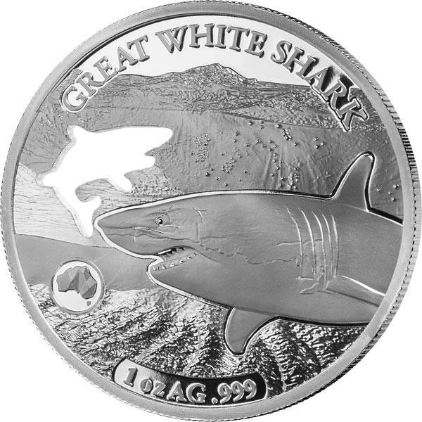 5 Dollars Salomonen Weißer Hai 2019