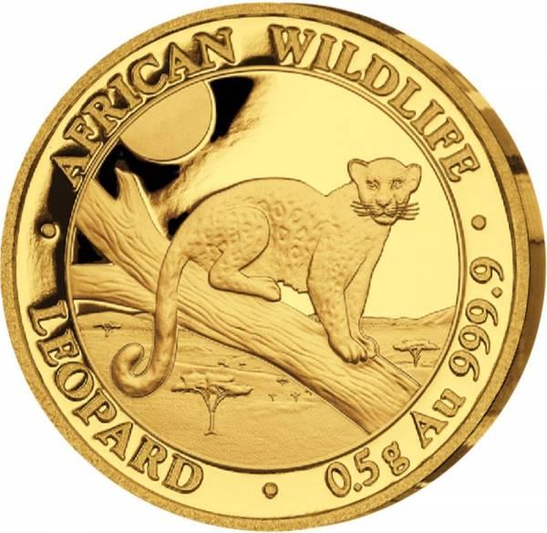 20 Shillings Somalia Leopard 2021