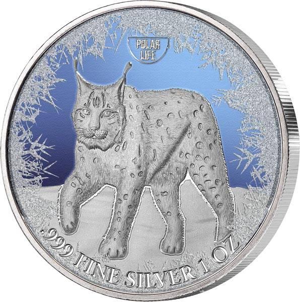 2 Dollars Niue Eurasischer Luchs 2019