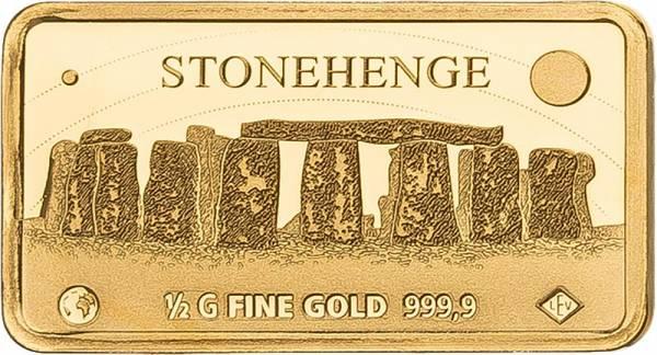Gedenkprägung Stonehenge