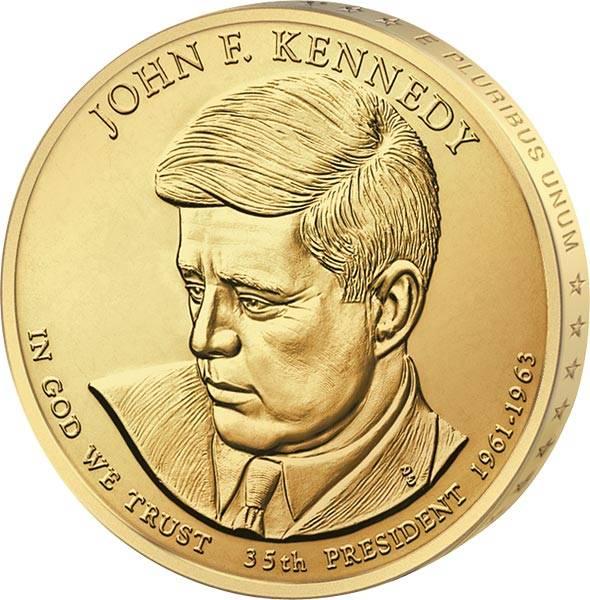 1 Dollar USA John F. Kennedy 2015