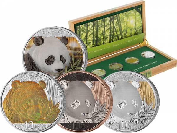 Silver Investment Coin Prestige-Set Panda 2018