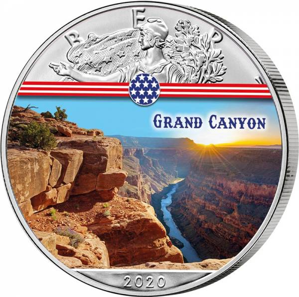 1 Dollar USA Grand Canyon 2020