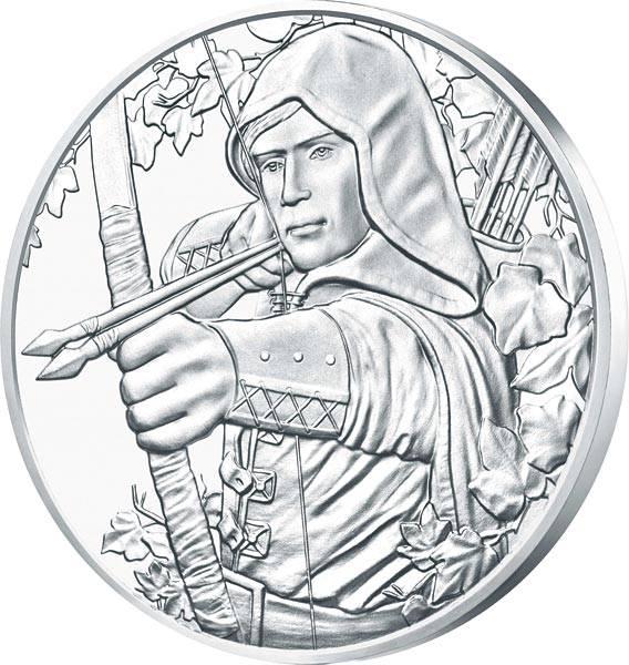 1 Unze Silber Österreich Robin Hood 2019