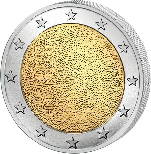 2 Euro Finnland 100 Jahre Unabhängigkeit 2017