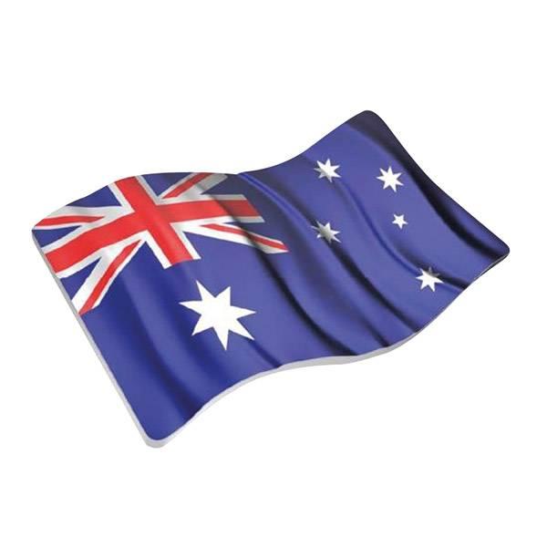 2 Dollars Australien Wehende Australien-Flagge 2018