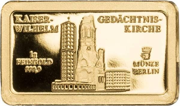 Goldbarren Kaiser-Wilhelm-Gedächtniskirche