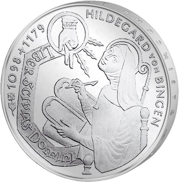 10 DM BRD  Hildegard von Bingen 1998  vorzüglich