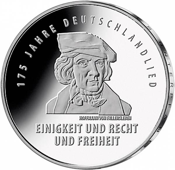 20 Euro BRD 175 Jahre Deutschlandlied 2016