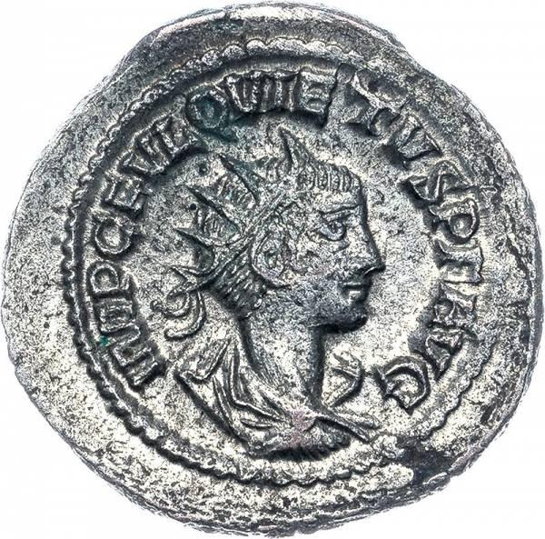 Antoninian Römisches Kaiserreich Kaiser Quitus 260-261