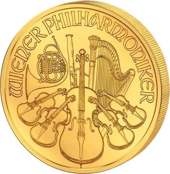 1/2 Unze Gold Österreich Philharmoniker 2020