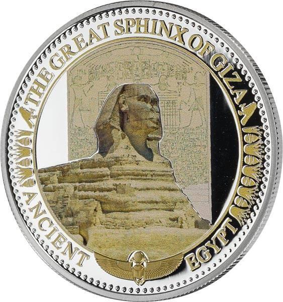 2 Dollars Salomonen Sphinx von Gizeh 2015