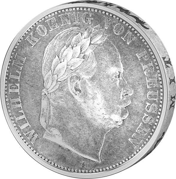 Vereinstaler Preußen König Wilhelm I.
