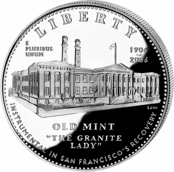 1 Dollar USA San Francisco Old Mint 2006 Stempelglanz