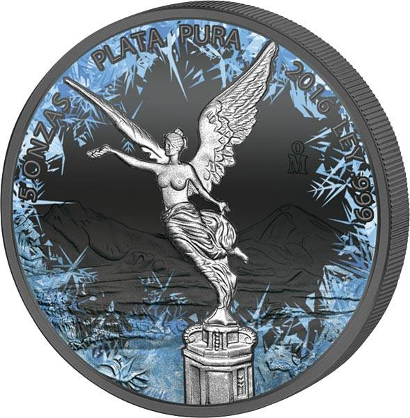 5 Unzen Mexiko Deep Frozen Edition Libertad 2016