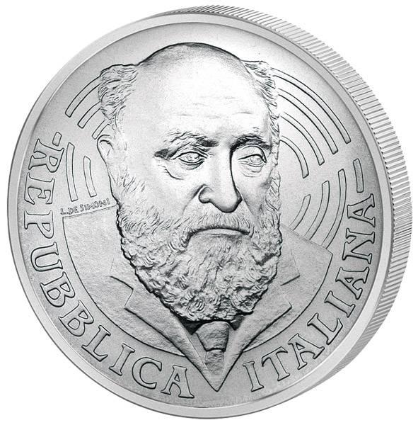 5 Euro Italien 100. Geburtstag von Altiero Spinelli 2007