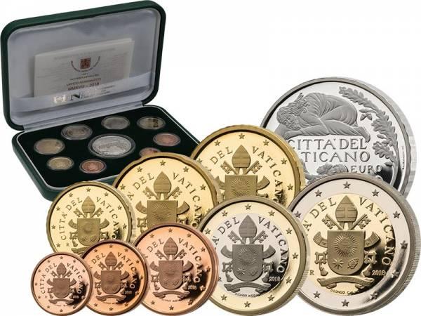 Euro-Kursmünzensatz Vatikan 2018 inkl. Gedenkprägung
