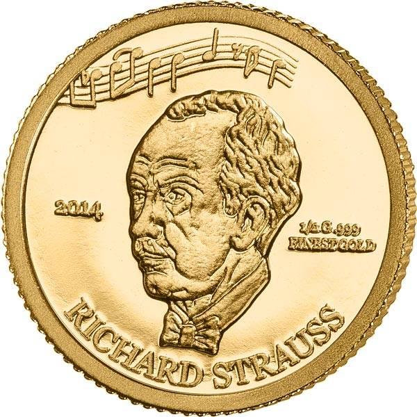 100 Francs Elfenbeinküste Richard Strauss 2014