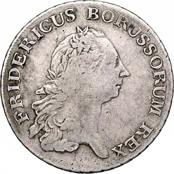 Reichtaler Preußen Friedrich II. der Große