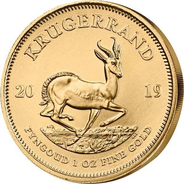 1 Unze Gold Südafrika Krügerrand 2019