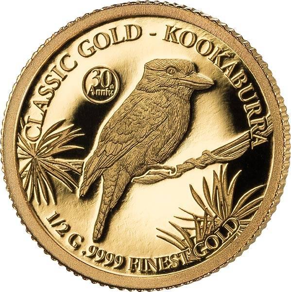 10 Dollars Barbados 30 Jahre Kookaburra 2020