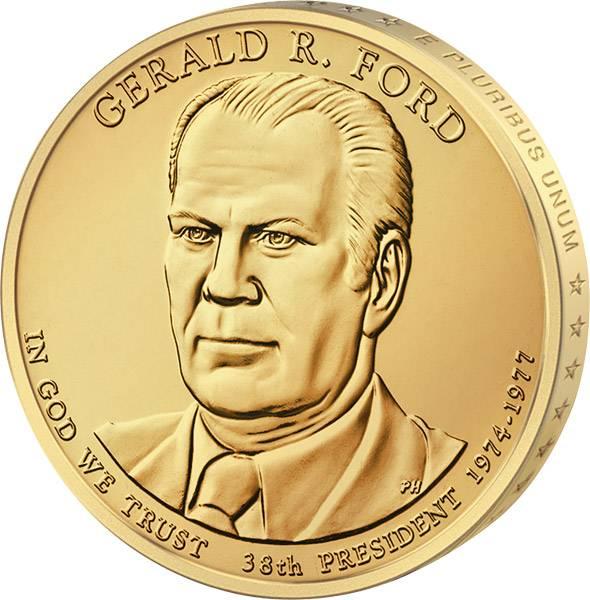 1 Dollar USA Gerald R. Ford 2016 Stempelglanz