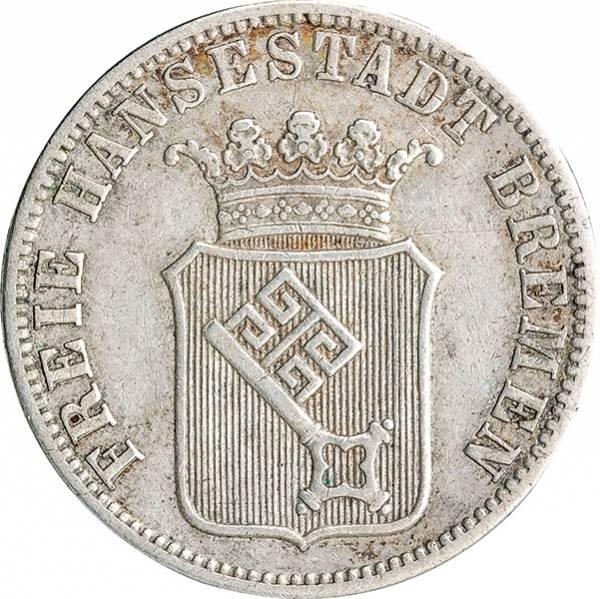 12 Grote Freie und Hansestadt Bremen 1859/1860