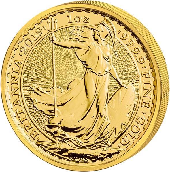 1 Unze Gold Großbritannien Britannia 2019
