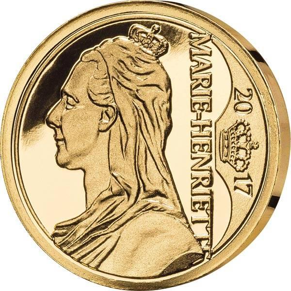 12,5 Euro Belgien Marie Henriette 2017