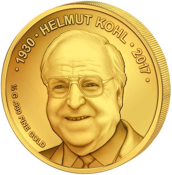 100 Francs Niger Helmut Kohl 2017